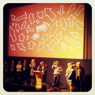 Kevin Pearce, family members and film crew present The Crash Reel