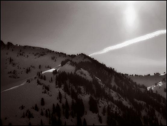 En strålende dag i vinterfjellet