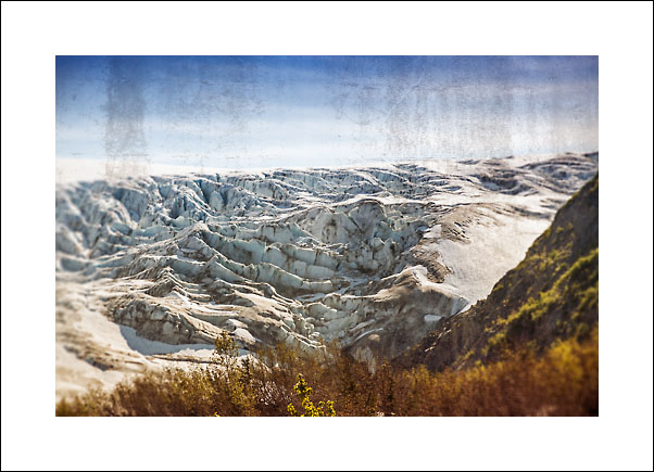 Exit Glacier er en brearm til den store isbreen Hardings Icefield