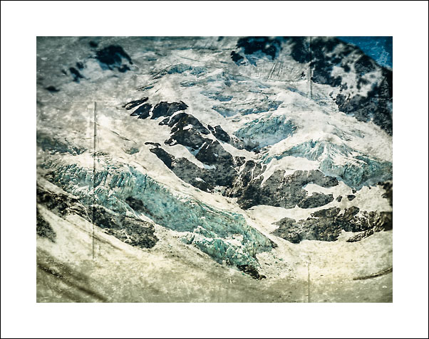 På vei innover mot en brearm til Portage Glacier