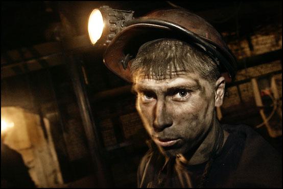 Kullgruvearbeider ferdig med dagens skift