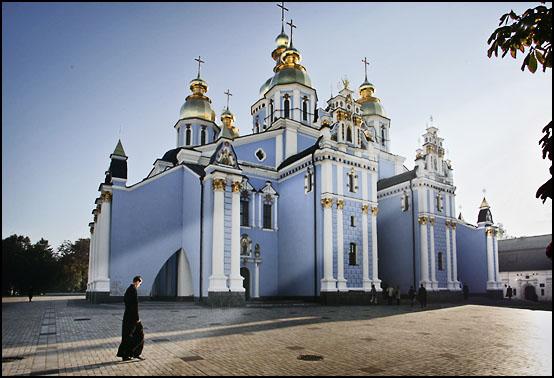 En av mange ortodokse kirker i hovedstaden