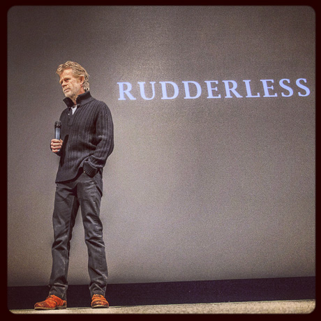 William H. Macy  has directed the emotionally very strong movie Rudderless
