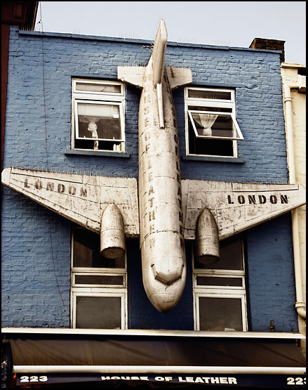 Fasade i Camden Town