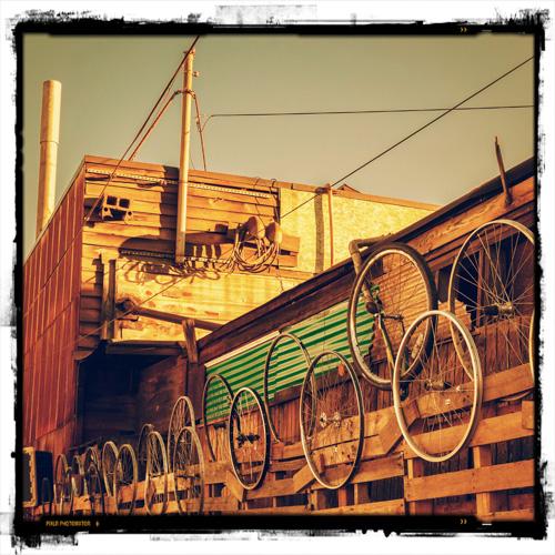 Bakgården til Peddler Brewing Company
