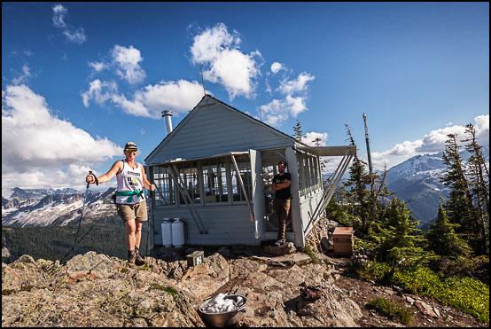 På toppen av Copper Ridge ved observasjonstårnet